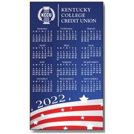 2020 Stars and Stripes Magnetic Calendar