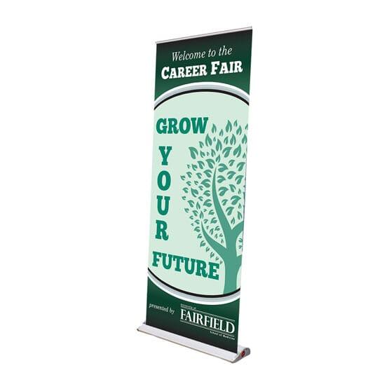 tradeshow retractable banner