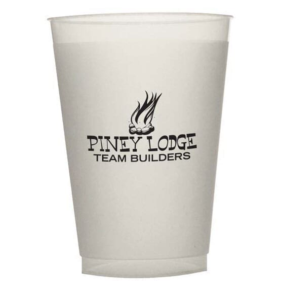 12 oz Durable Frosted Cup