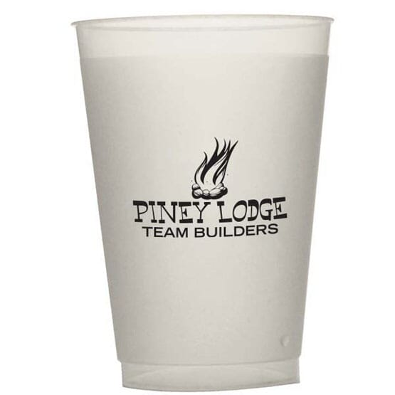 16 oz Durable Frosted Cup
