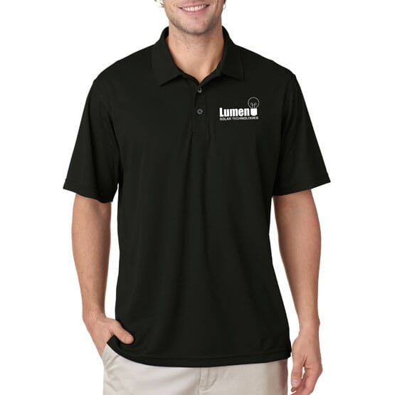 Ultraclub® Men's Cool & Dry Mesh Pique Polo