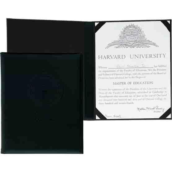 Executive Designs Certificate Holder