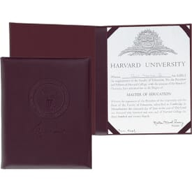 Executive Designs Certificate Holder