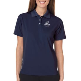 Ultraclub® Ladies' Cool & Dry Stain-Release Performance Polo