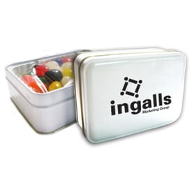 Assorted Jelly Beans Gift Tin