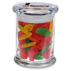 Candy Jar With Assorted Swedish Fish