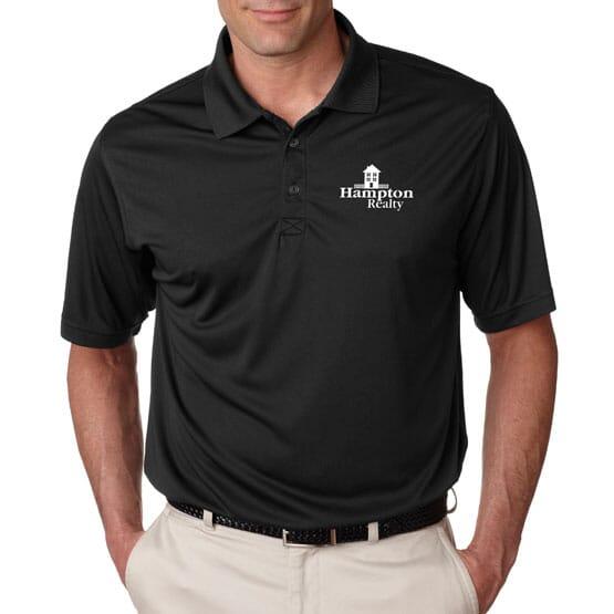 Ultraclub® Men's Cool & Dry Sport Performance Interlock Polo