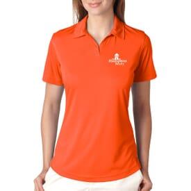 Ultraclub® Ladies' Cool & Dry Sport Performance Interlock Polo