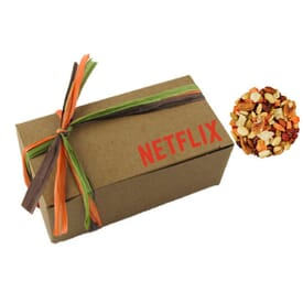 Kraft Gift Box With Deluxe Trail Mix