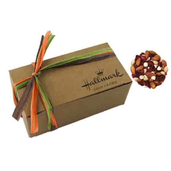 Kraft Gift Box With Sweet Cranberry Crunch