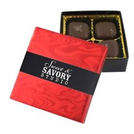 Sea Salt Caramel Gift Box- 4 Piece