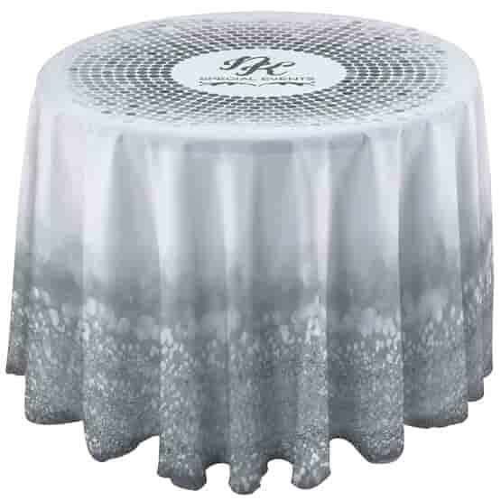 3' Round Drape Side Table Cloth
