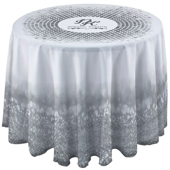 3' Round Drape Side Table Cloth