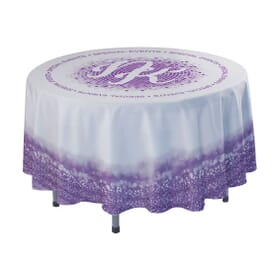4' Round Drape Side Table Cloth