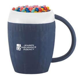 12 oz Jelly Bean Filled Sweater Mug
