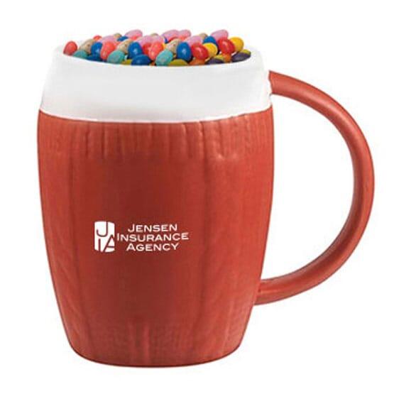 12 oz Jelly Bean Filled Sweater Mug