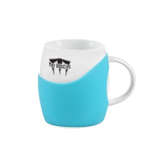 14 oz Cupped Ceramics Mug