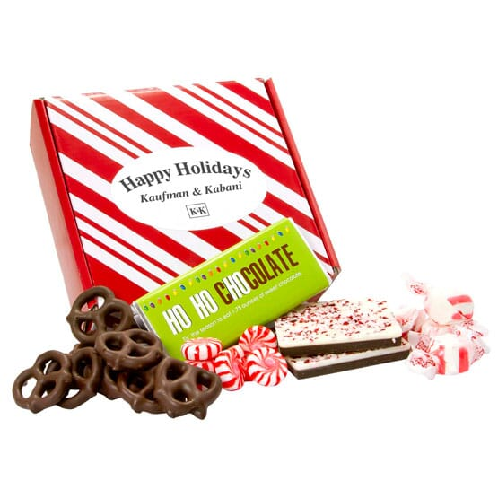 Happy Holidays Treat Box
