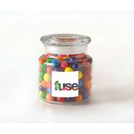 Sour Balls Candies Glass Jar