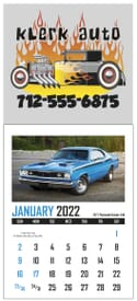 2021 Triumph® Stick Up Muscle Car Calendar
