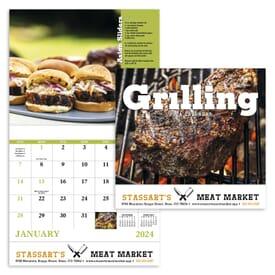 2021 Stapled Grillmaster Calendar