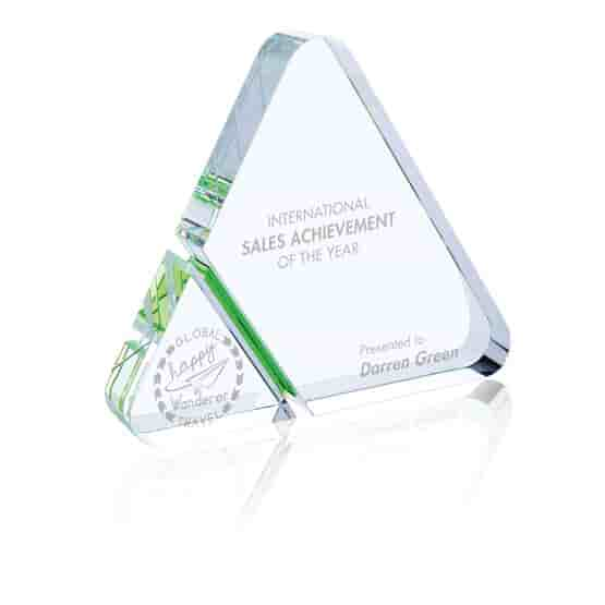 Corner Cut Triangle Award