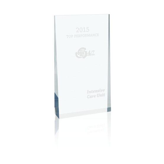 Acrylic Wedge Award - Large