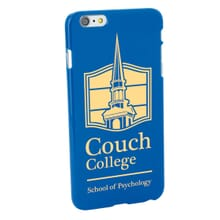 Blue iPhone Hard Case
