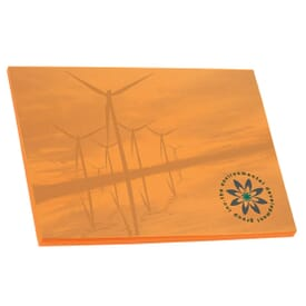 """Bic® 4"""" X 3"""" Adhesive Colored Paper Notepad - 25 Sheet"""