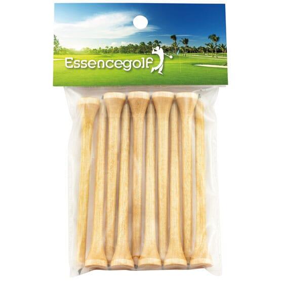 Teecil® Golf Tees w/Card Topper