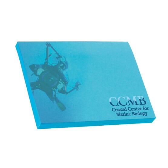 "Bic® 4"" x 3"" Adhesive Colored Notepad - 50 Sheet"