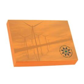 Bic® 4X3 Adhesive Colored Notepad - 100 Sheet