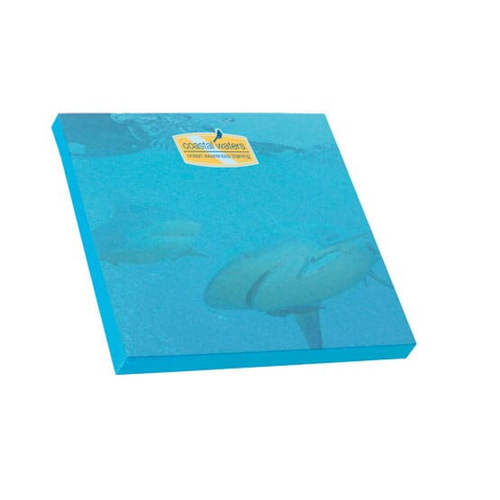 "Bic® 3"" x 3"" Adhesive Colored Notepad - 50 Sheet"