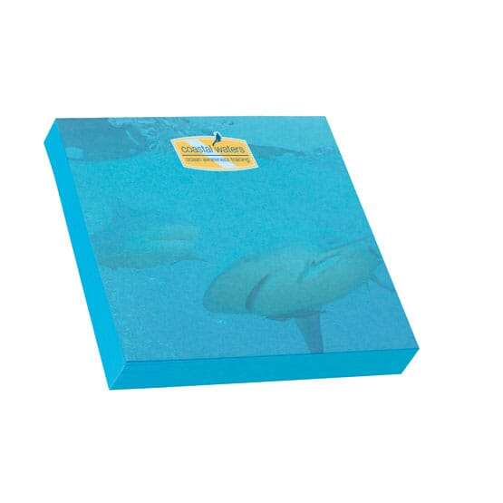 "Bic® 3"" x 3"" Adhesive Colored Notepad - 100 Sheet"