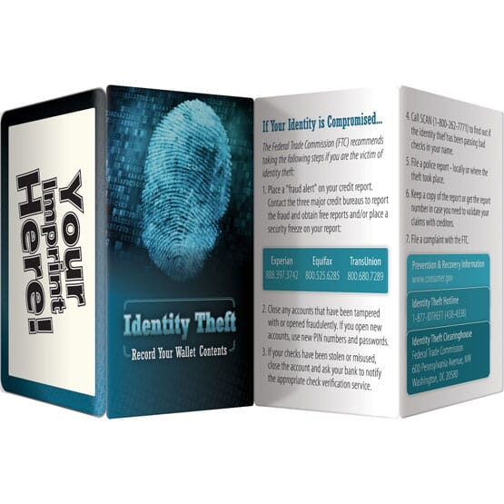 Wallet Records ID Theft Brochure