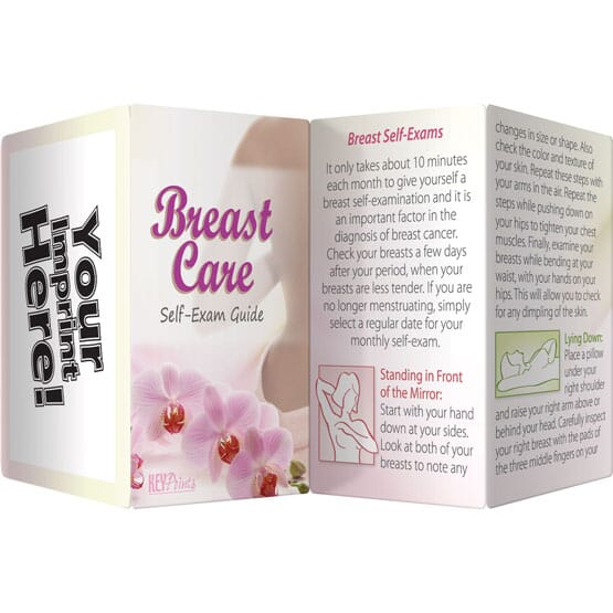 Breast Care Self Exam Guide - English