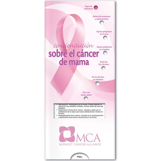 Breast Cancer Awareness Brochure - Spanish
