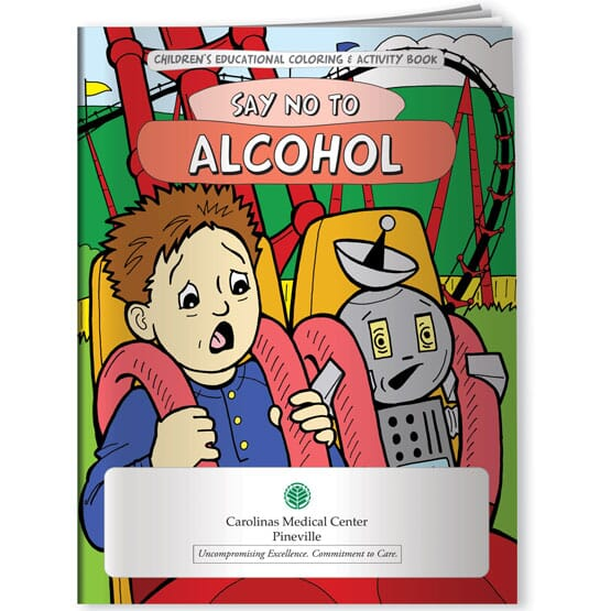Say No To Alcohol Coloring Book