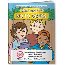 Say No To Drugs Coloring Book - English