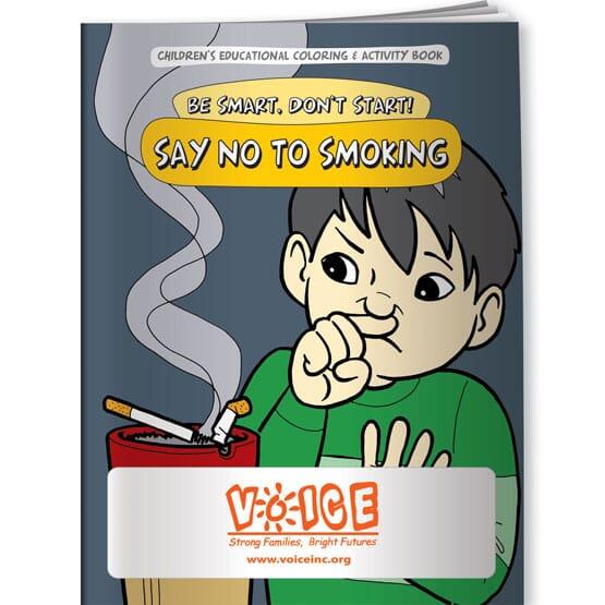 Say No To Smoking Coloring Book