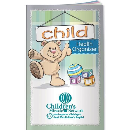 Children's Health Organizer Booklet