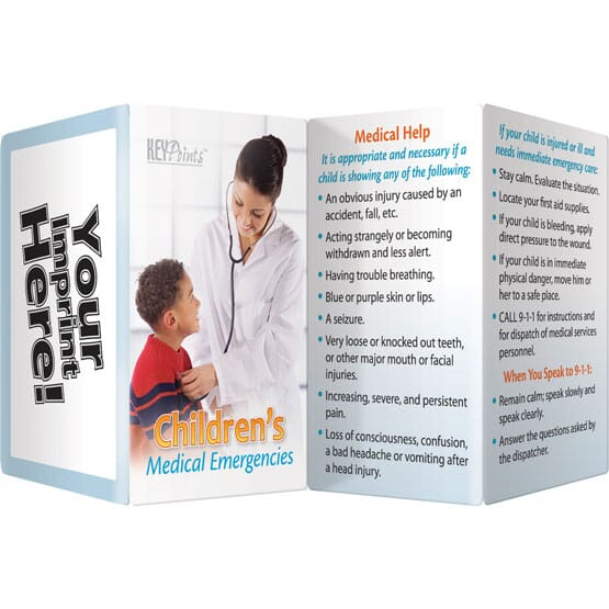 Children's Medical Key Points Brochure - English
