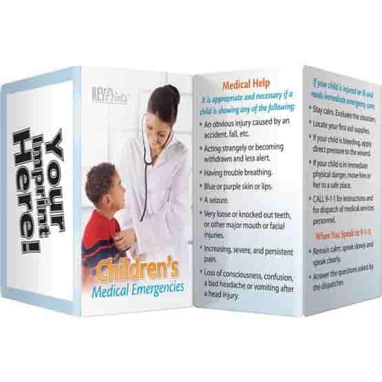 Children's Medical Key Points Brochure - English