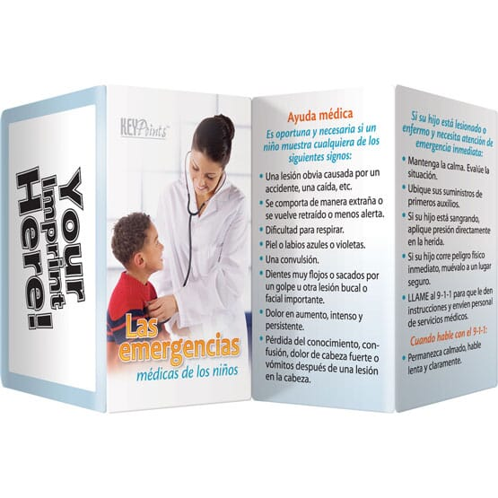 Children's Medical Key Points Brochure - Spanish