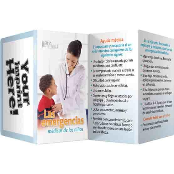 Children's Medical Key Points Brochure - Spanish