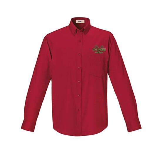 Core365™ Men's Operate Long-Sleeve Twill Shirt