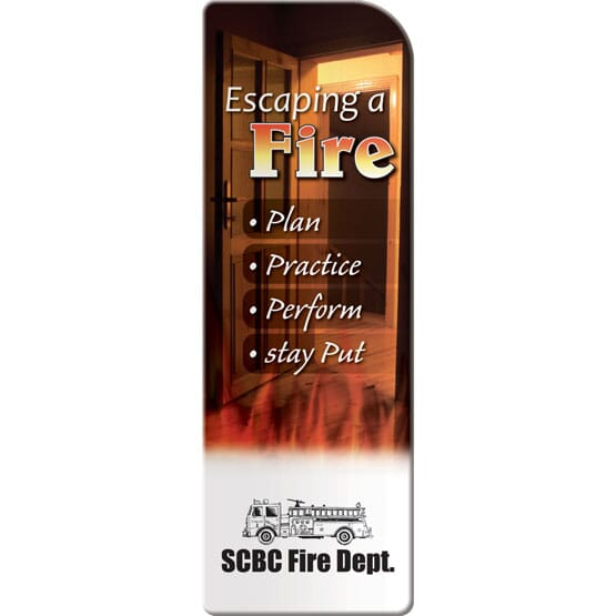 Fire Escape Bookmark