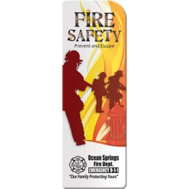 Prevent & Escape Fire Safety Bookmark