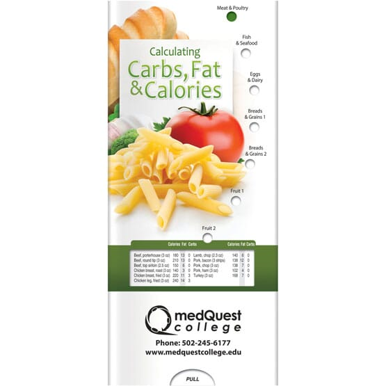 Carbs, Fat, & Calories Brochure - English