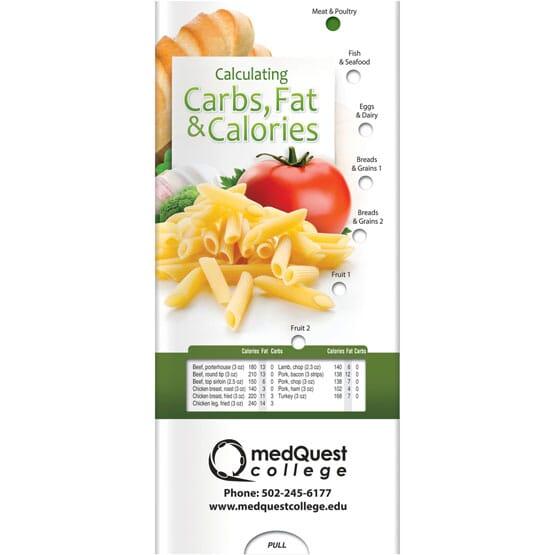 Carbs, Fat, & Calories Brochure - English